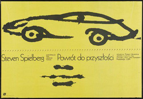 BACK TO THE FUTURE Polish Film Poster