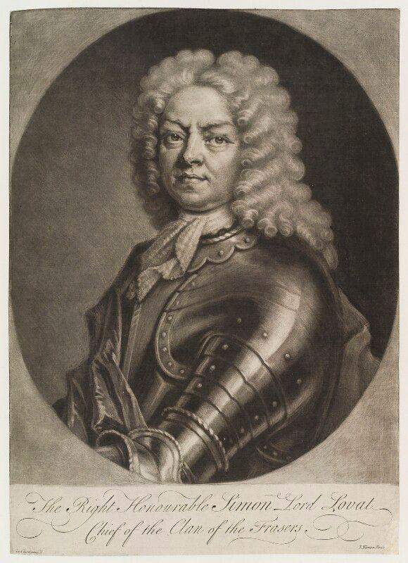 Simon, Lord Lovat by Simon 1725
