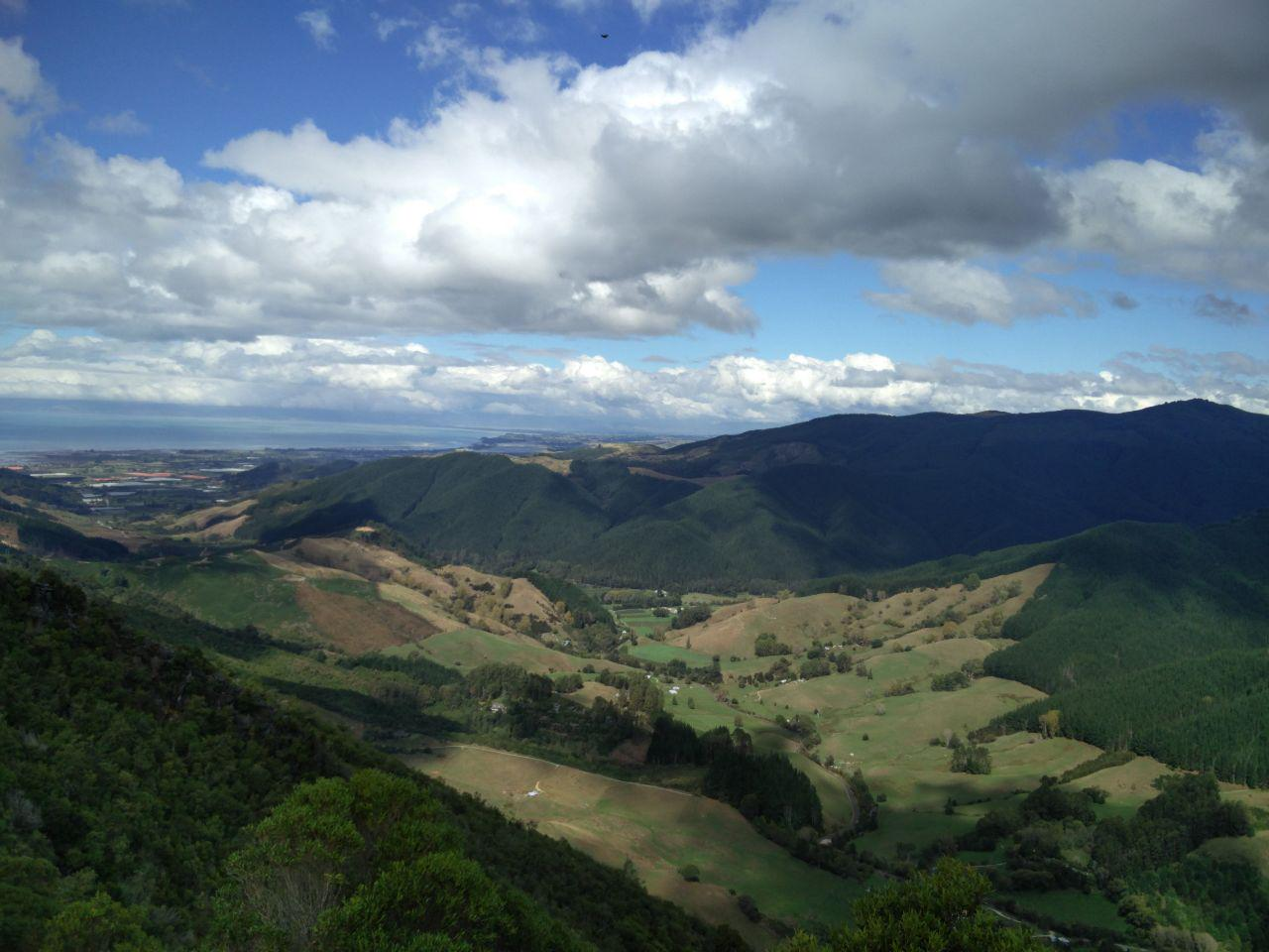 A view from outside of Nelson, New Zealand