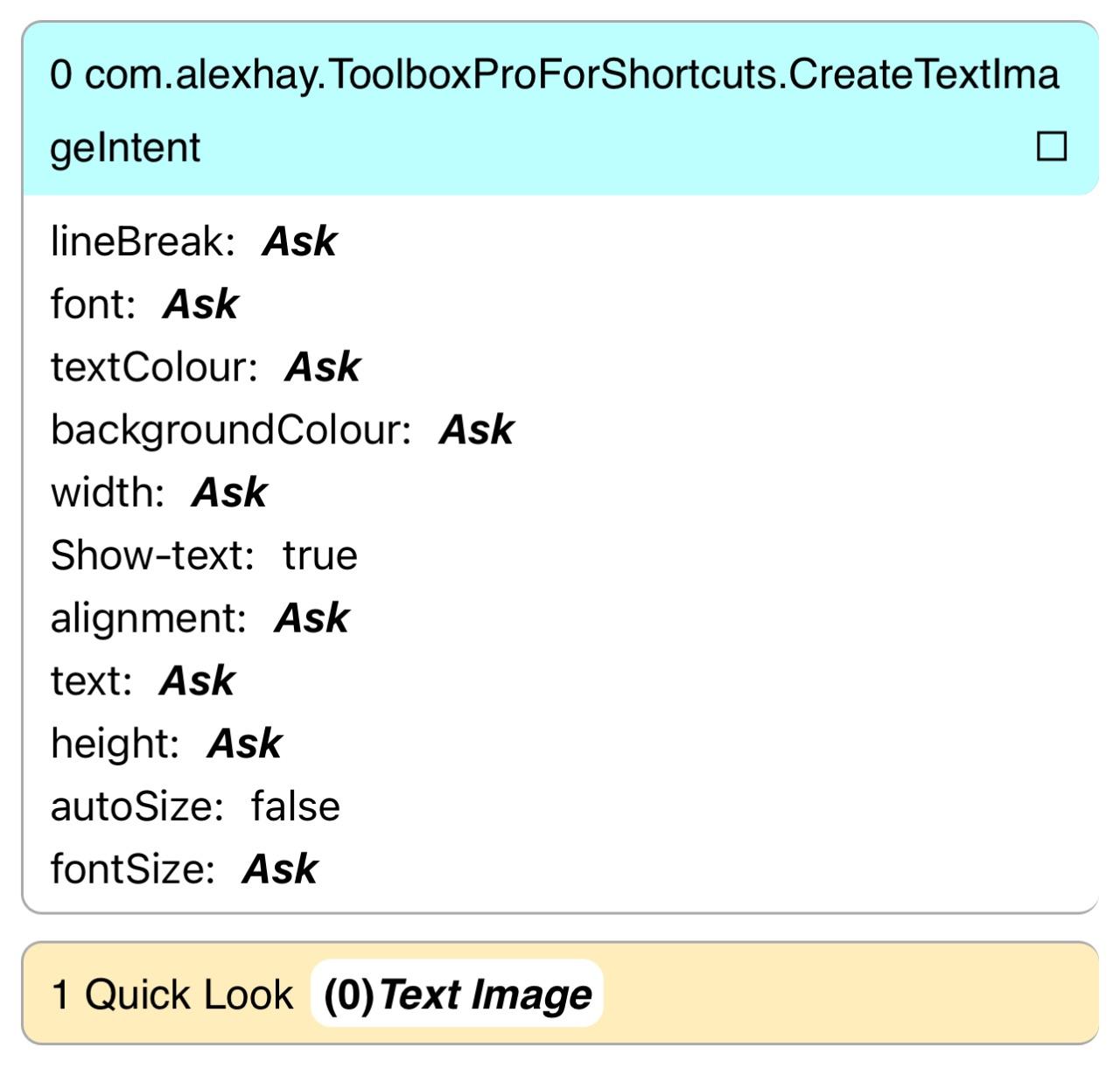 Custom Text Image Source