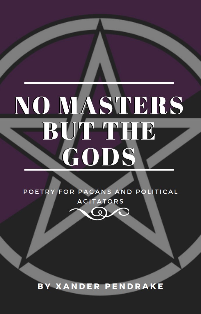 Cover for No Masters But the Gods by Xander Pendrake