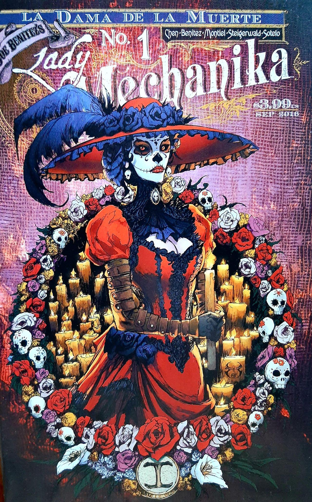 Couverture Lady Mechanika La Dama de la muerte