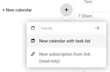Adding a calendar to Nextcloud Calendar