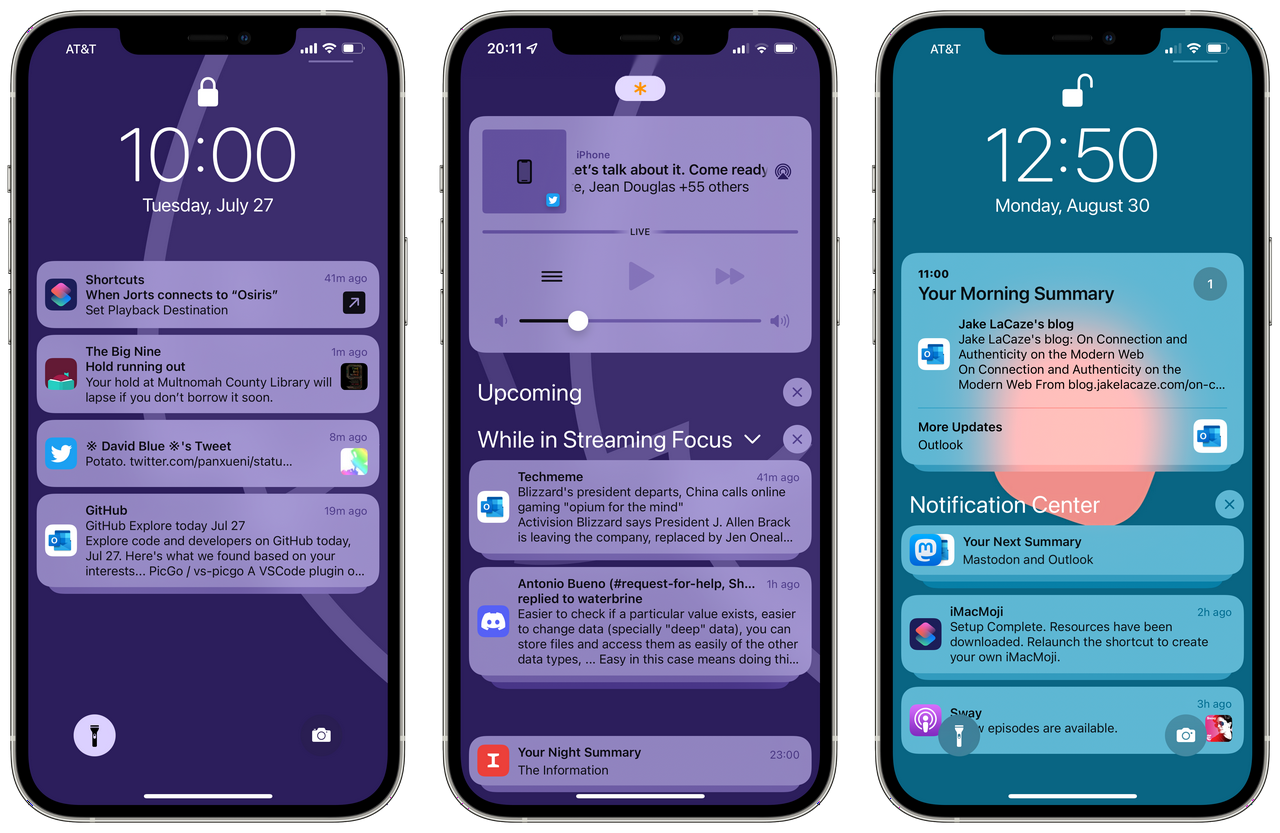 Notifications in iOS 15