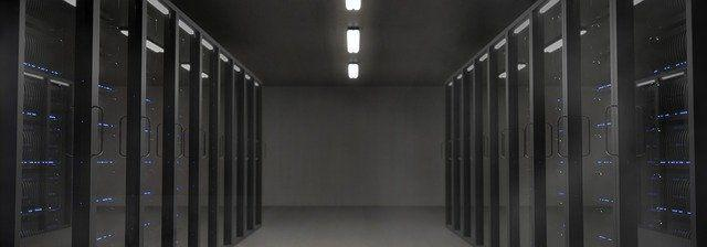 A data centre, where many of your files go to be forgotten