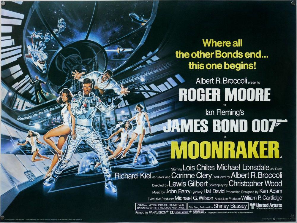 Moonraker Poster