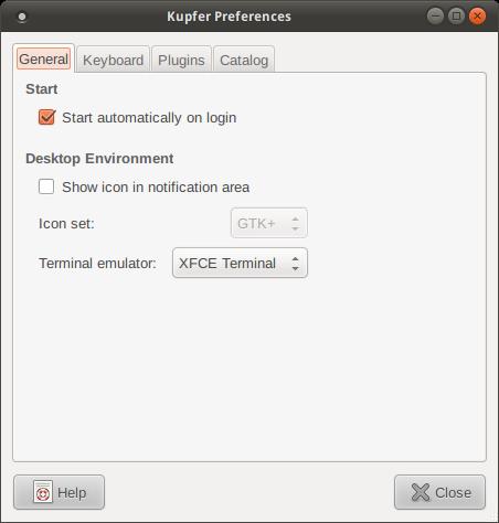 Kupfer's general preferences
