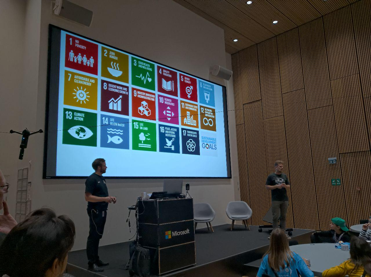 The Global Goals at Coding Pirates Game Jam 2019