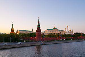 The Moscow Kremlin, Moscow, Russia.