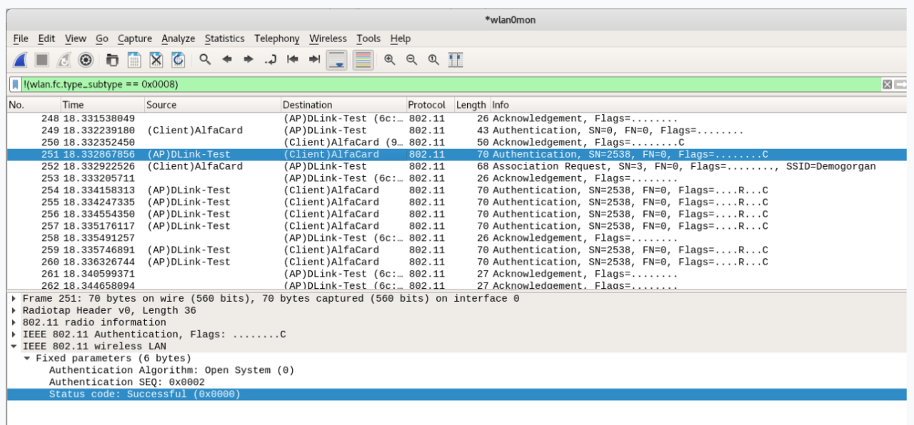 Wireshark PacketCapture