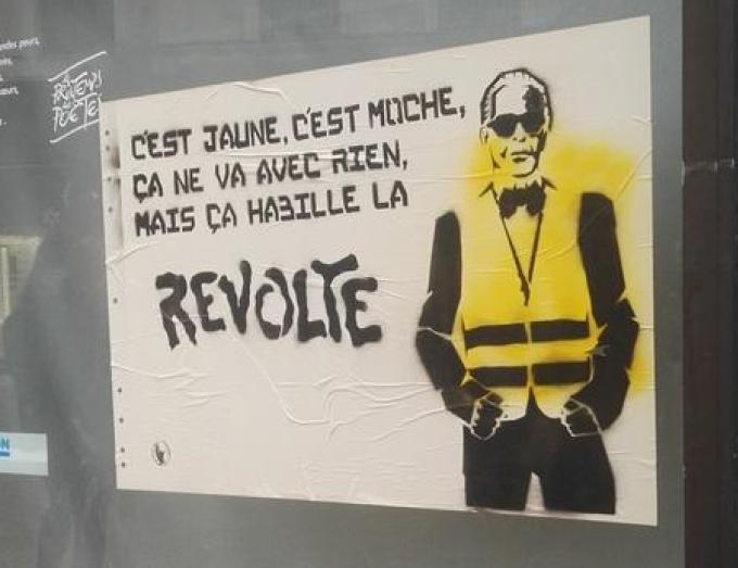 Tag Révolte Karl Gilets Jaunes
