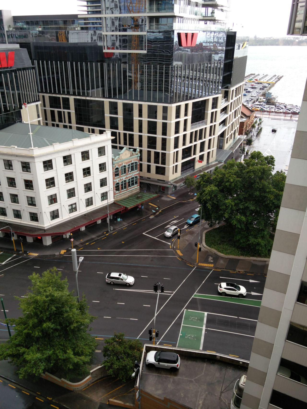 A pause in the Auckland rain