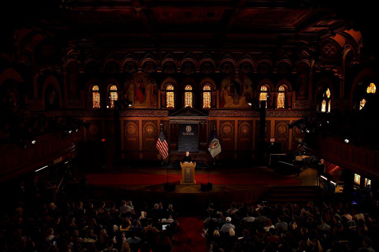 Mark Zuckerberg at Georgetown University - 10-17-2019