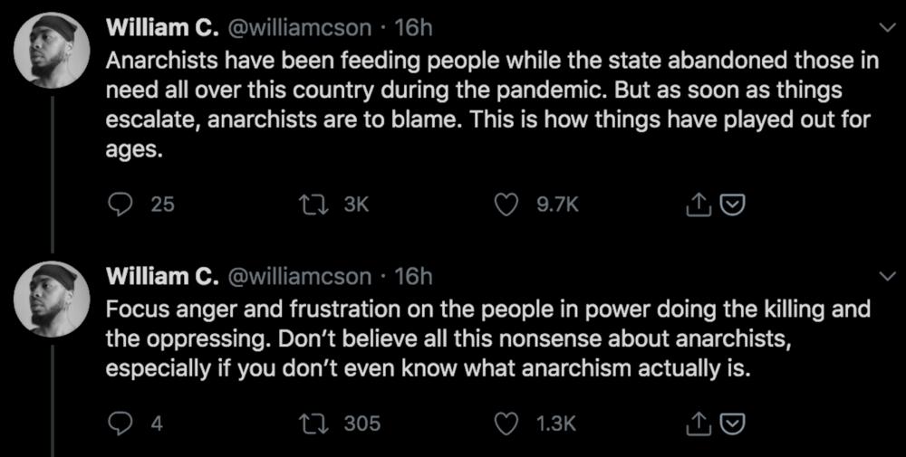 William C Anderson Twitter Quote 1