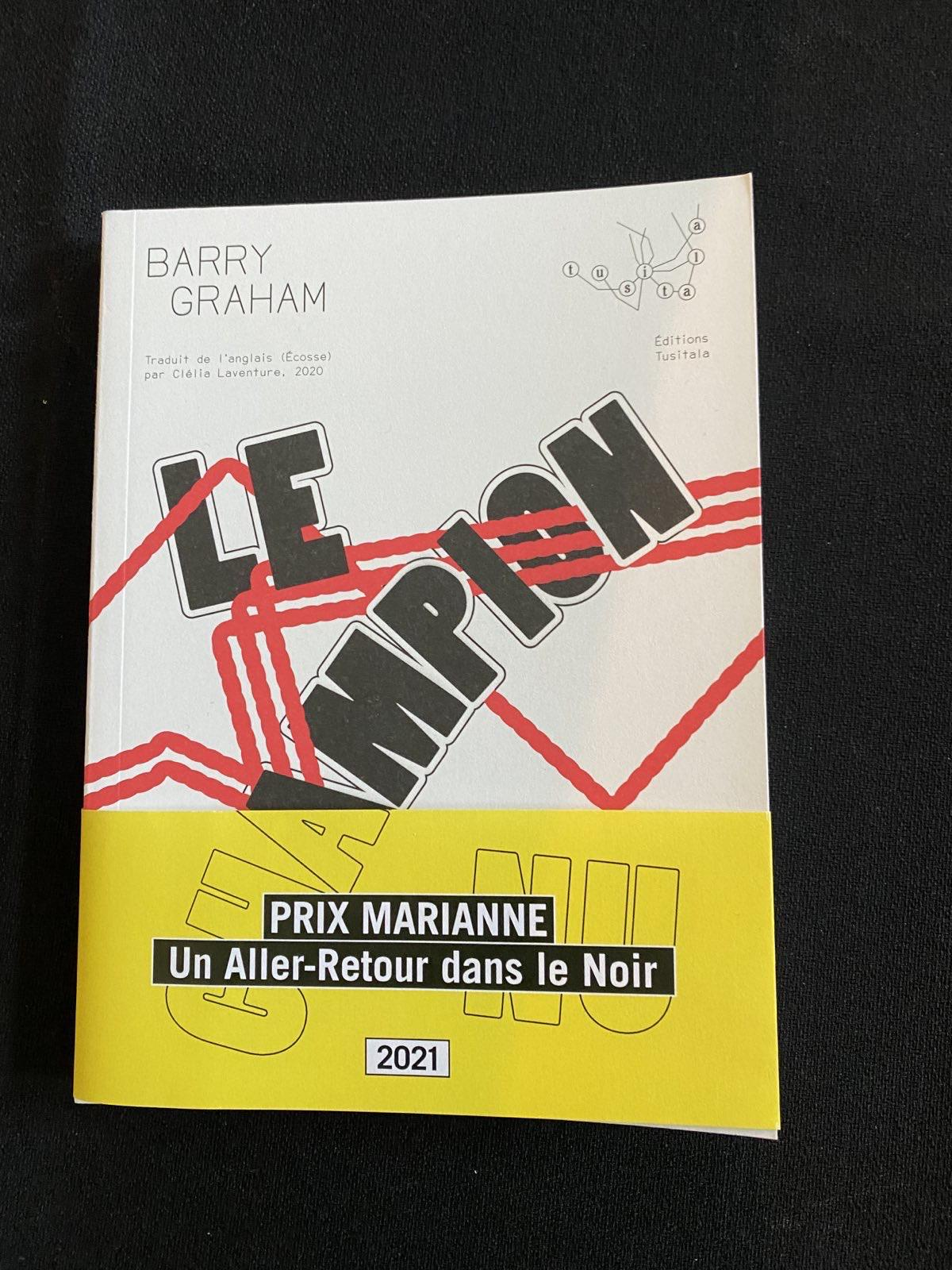 cover of le champion nu by barry graham