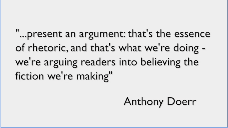 quote from Anthony Doerr