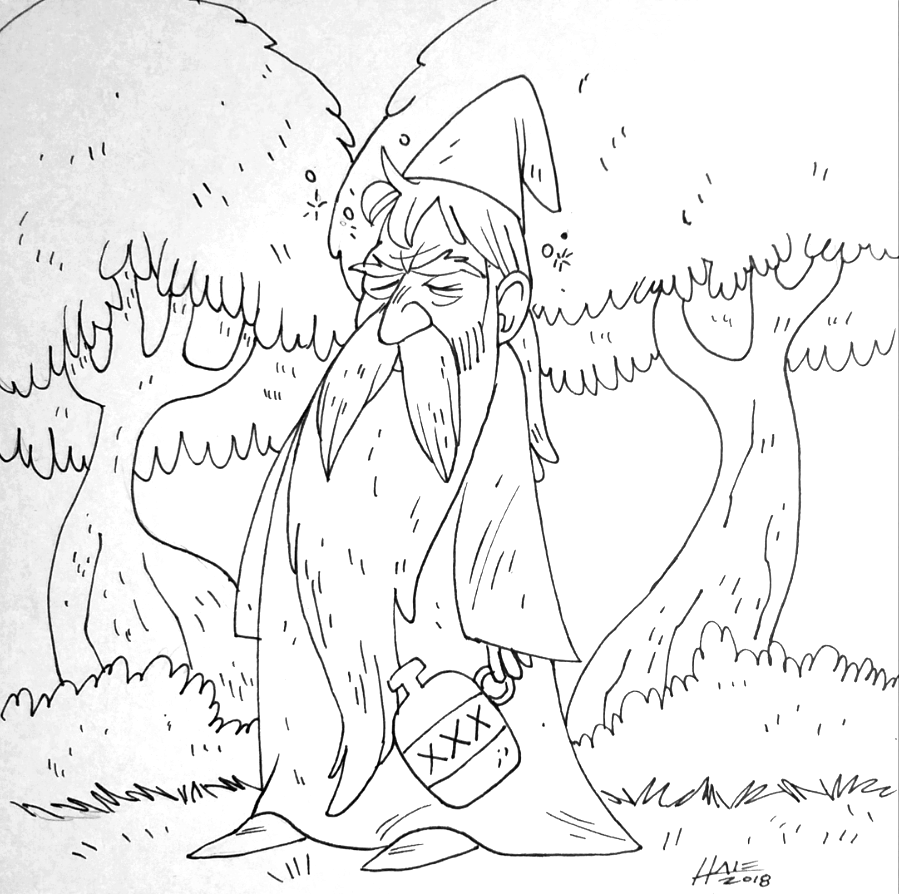 DAY 4 - THE ANCIENT WIZARD