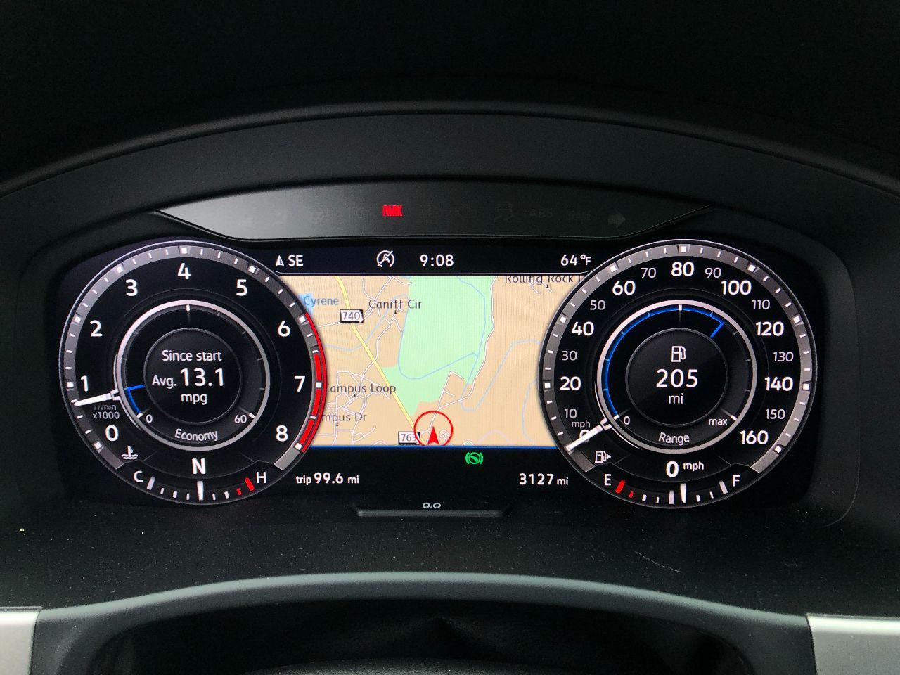 Volkswagen Atlas Digital Dash