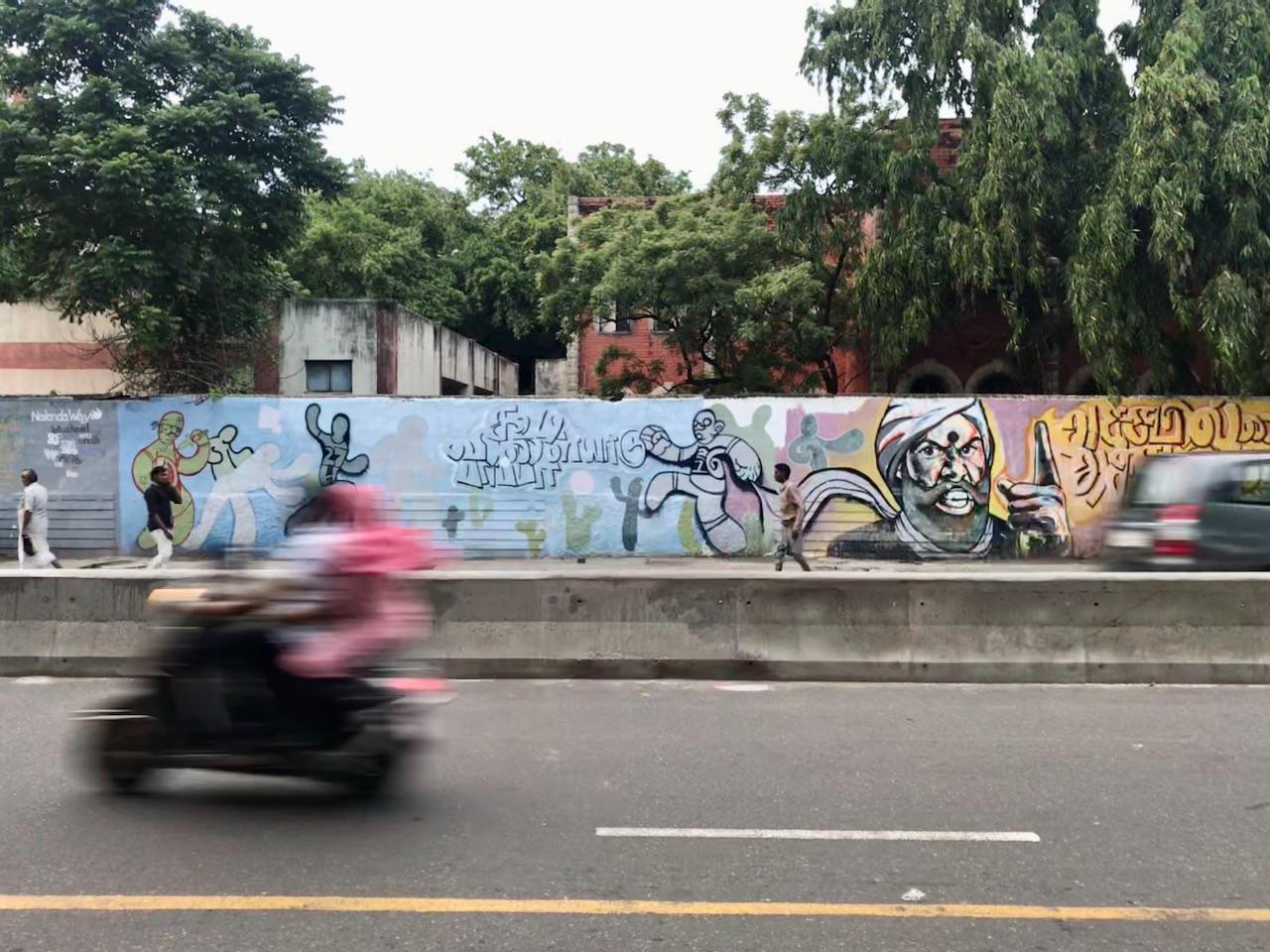 Street Grafitti, Triplicane.