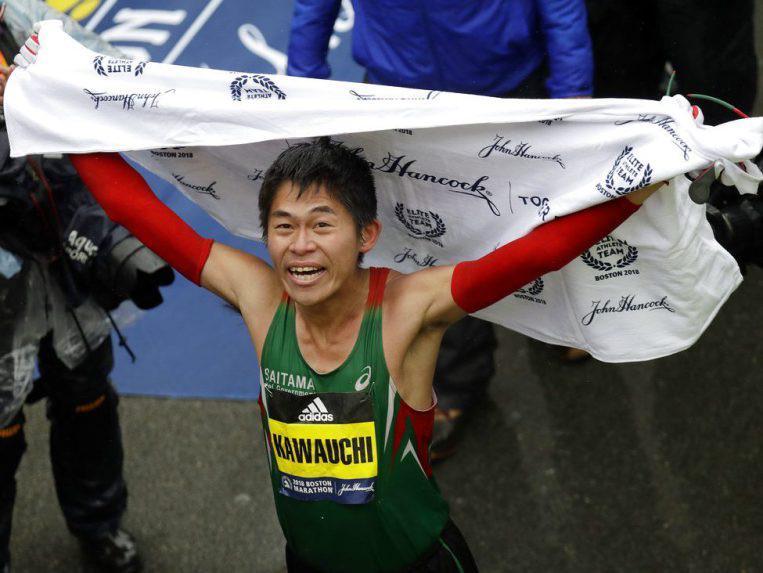 Yuki Kawauchi at Boston
