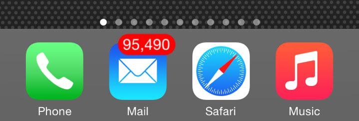 Unread Email Notifications