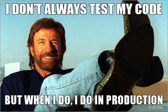 test on prod