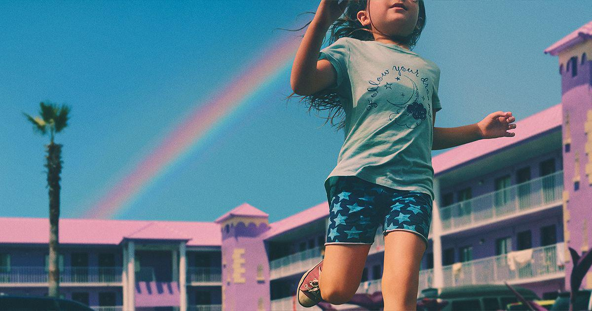 The Florida Project, a shot from the movie.