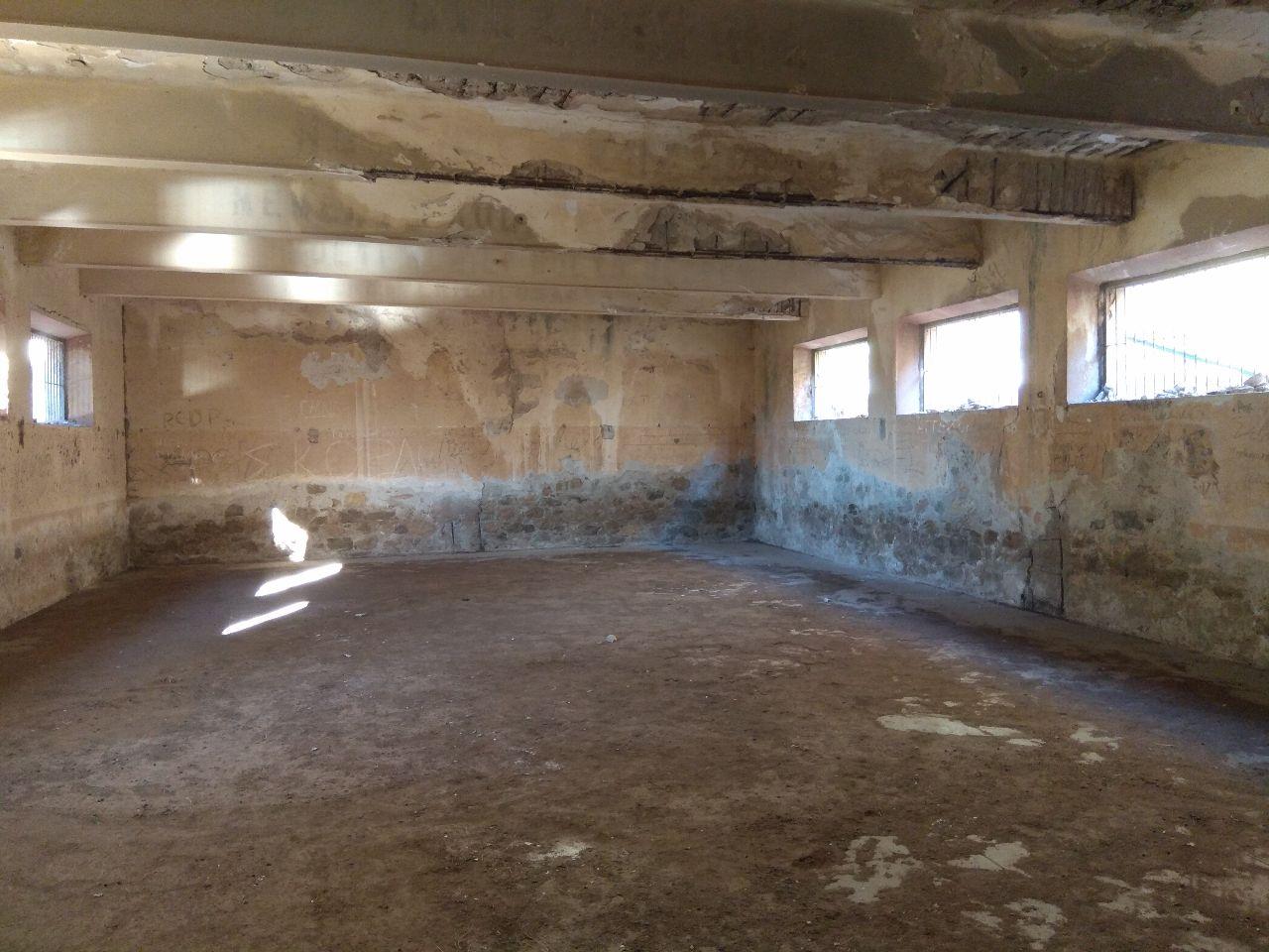 Εσωτερικός χώρος του στρατώνα