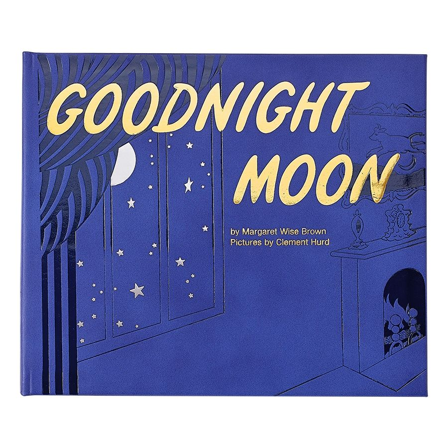 The Goodnight Moon cover that more closely matched my vision, with fewer colors
