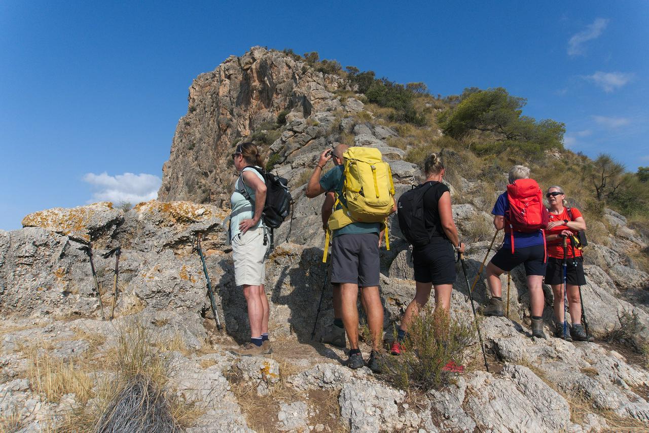 On the way to the summit of Cerro Caleta