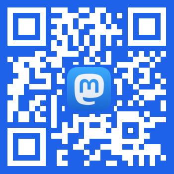 Mastodon for iOS QR Code