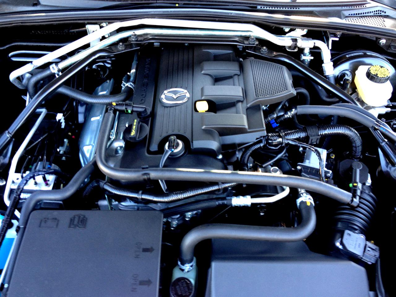 2013 Mazda MX-5 - Engine
