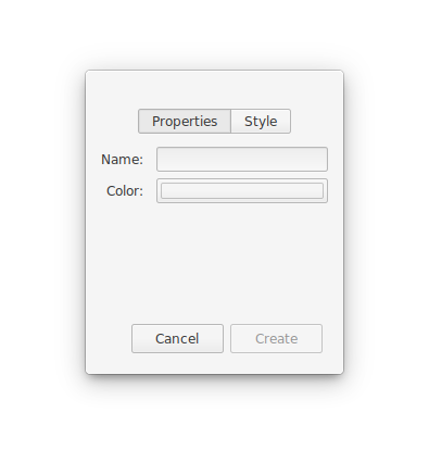 Setting notebook properties in Notes-Up