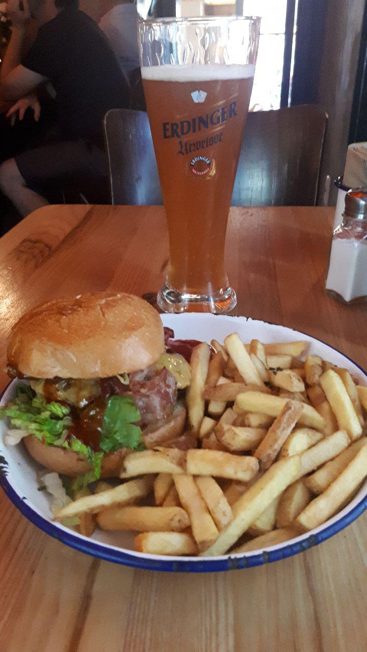 hamburger in Hamburg