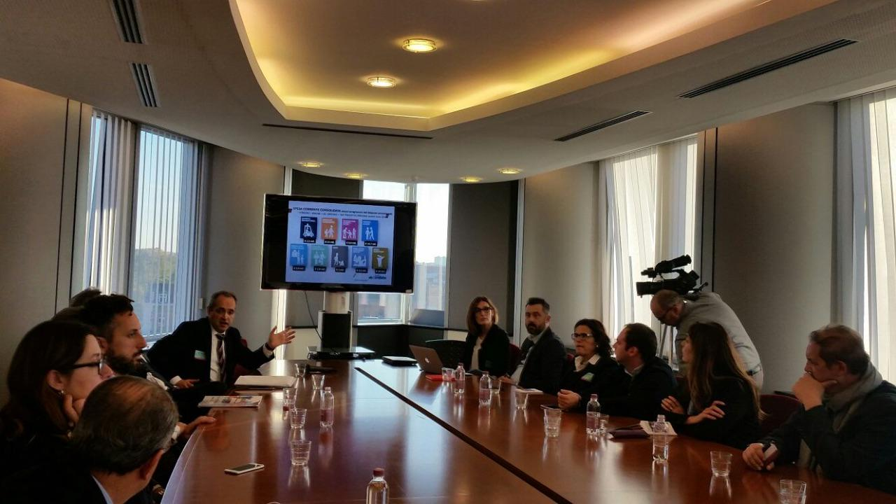 Presentation of the Bassa Reggiana Preschool system at the Europarliament