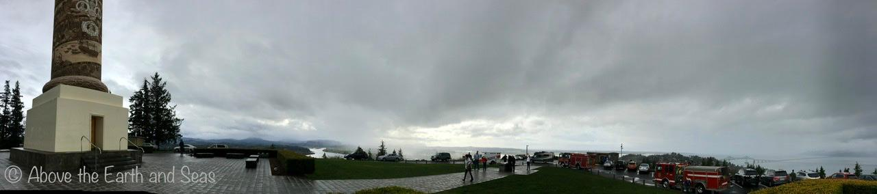 Another panorama, this time showing the Astoria Column
