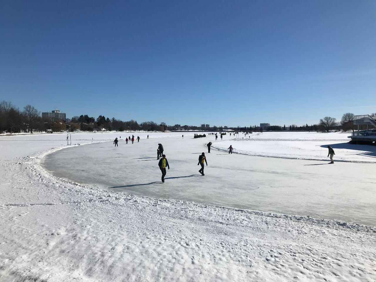 Rideau Canal Skateway, Dows Lake, 2021