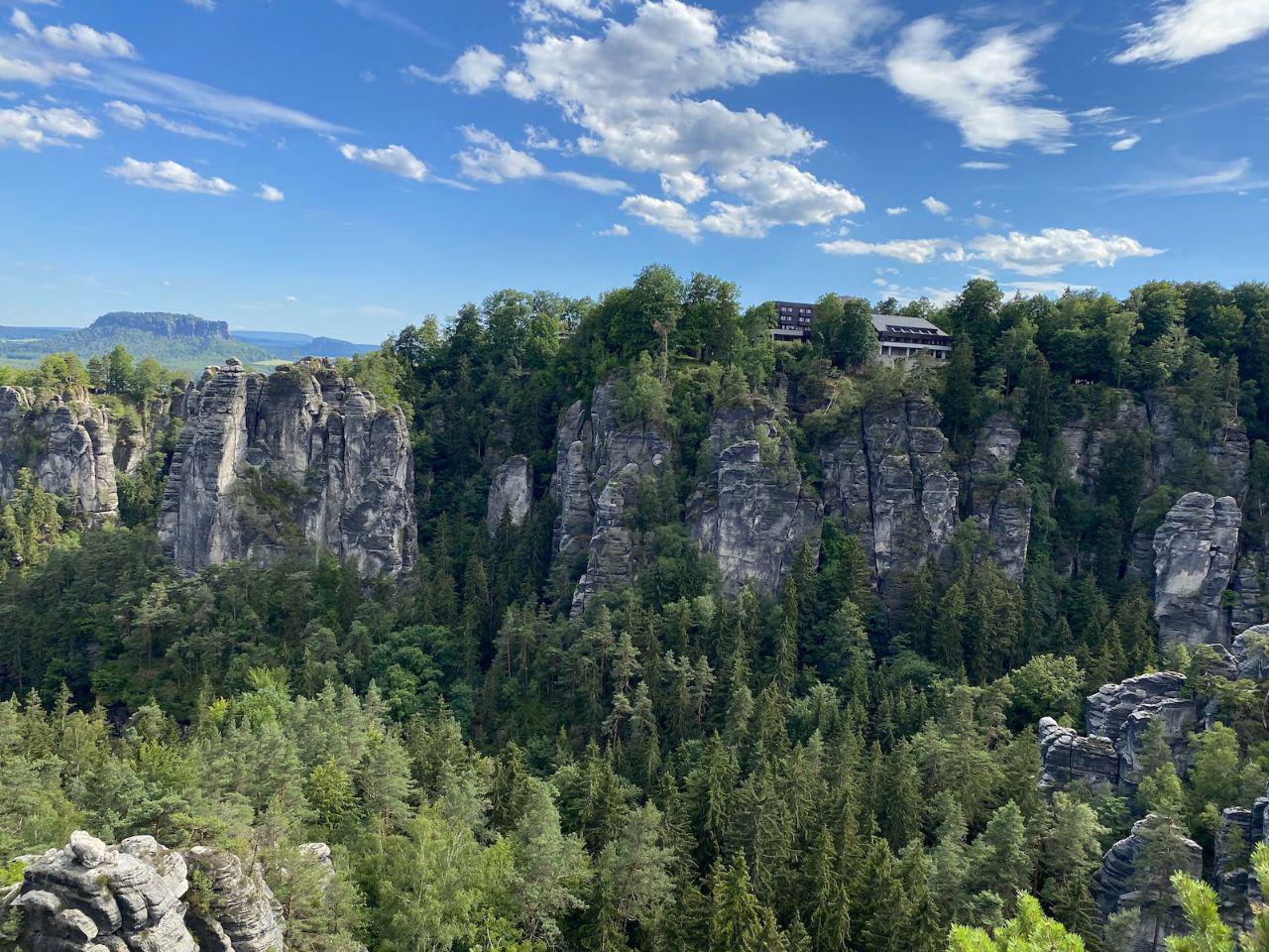 Saxon Switzerland sandstone rocks