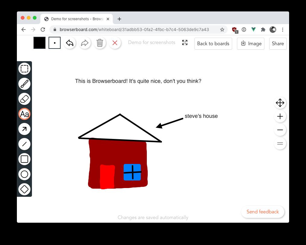 Browserboard screenshot
