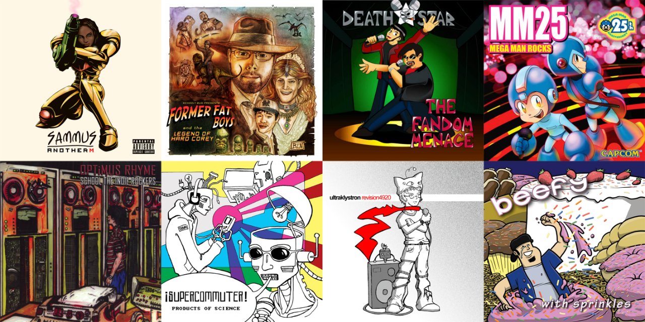Nerdcore covers