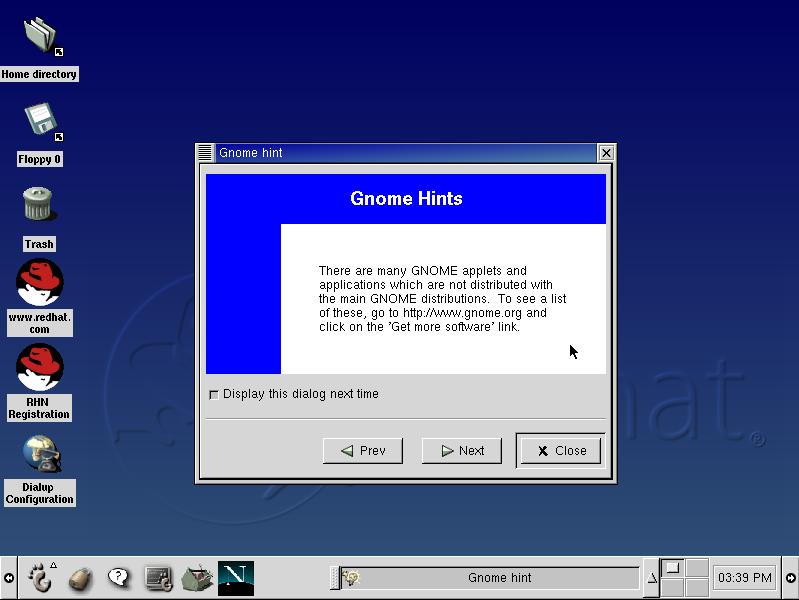 GNOME circa 2002