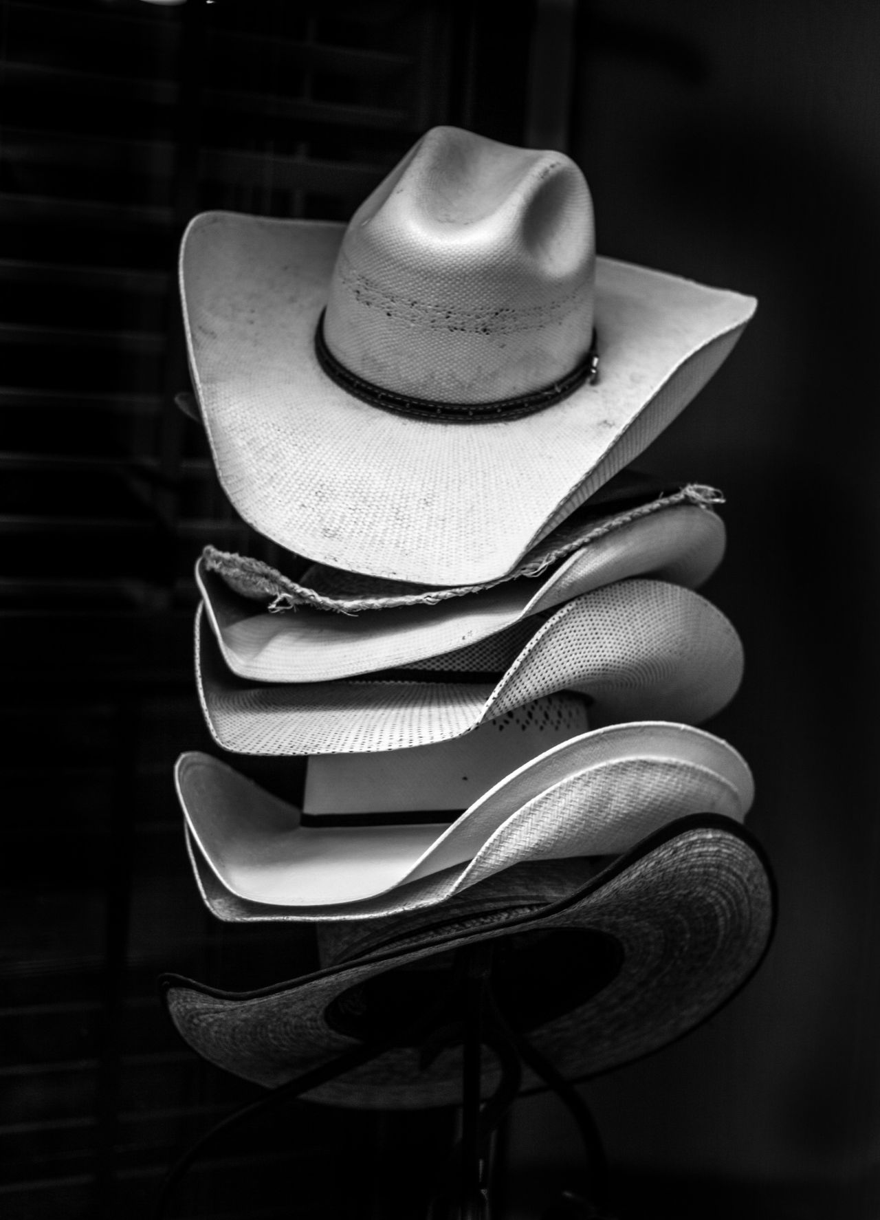 Cowboy Hats Stacked
