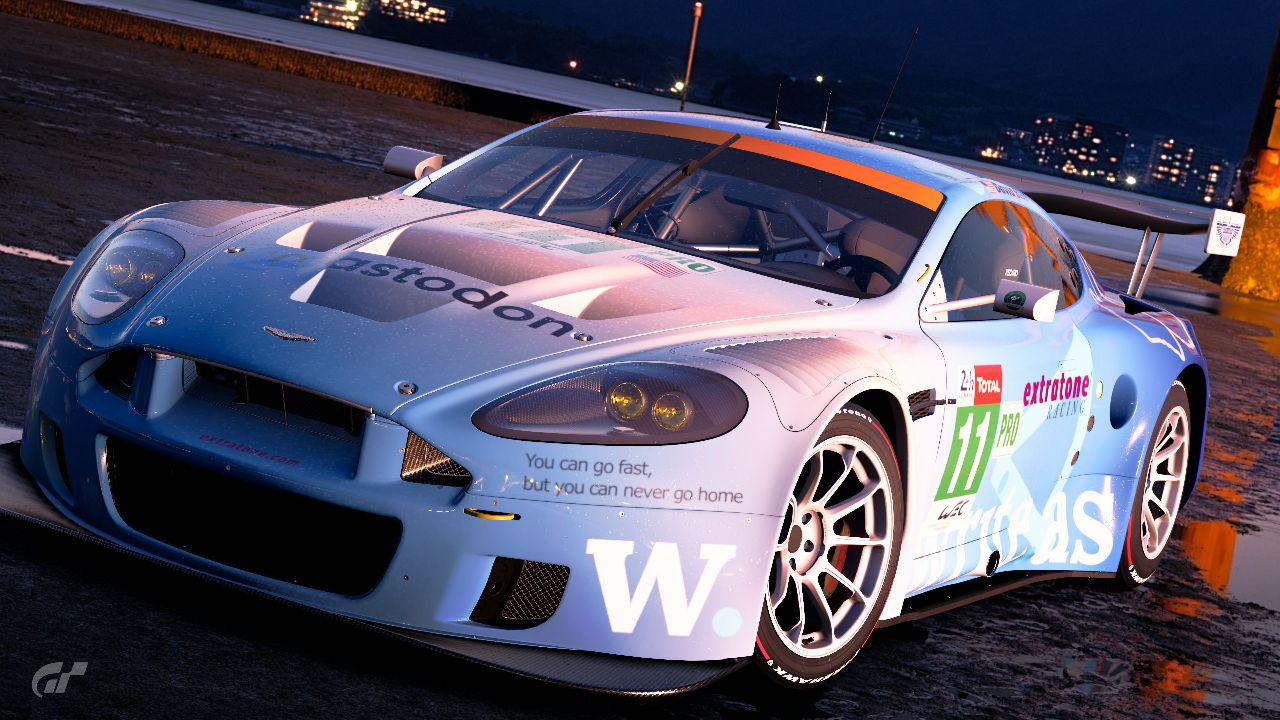 Aston Martin DBR9 Extratone Racing Livery WIP