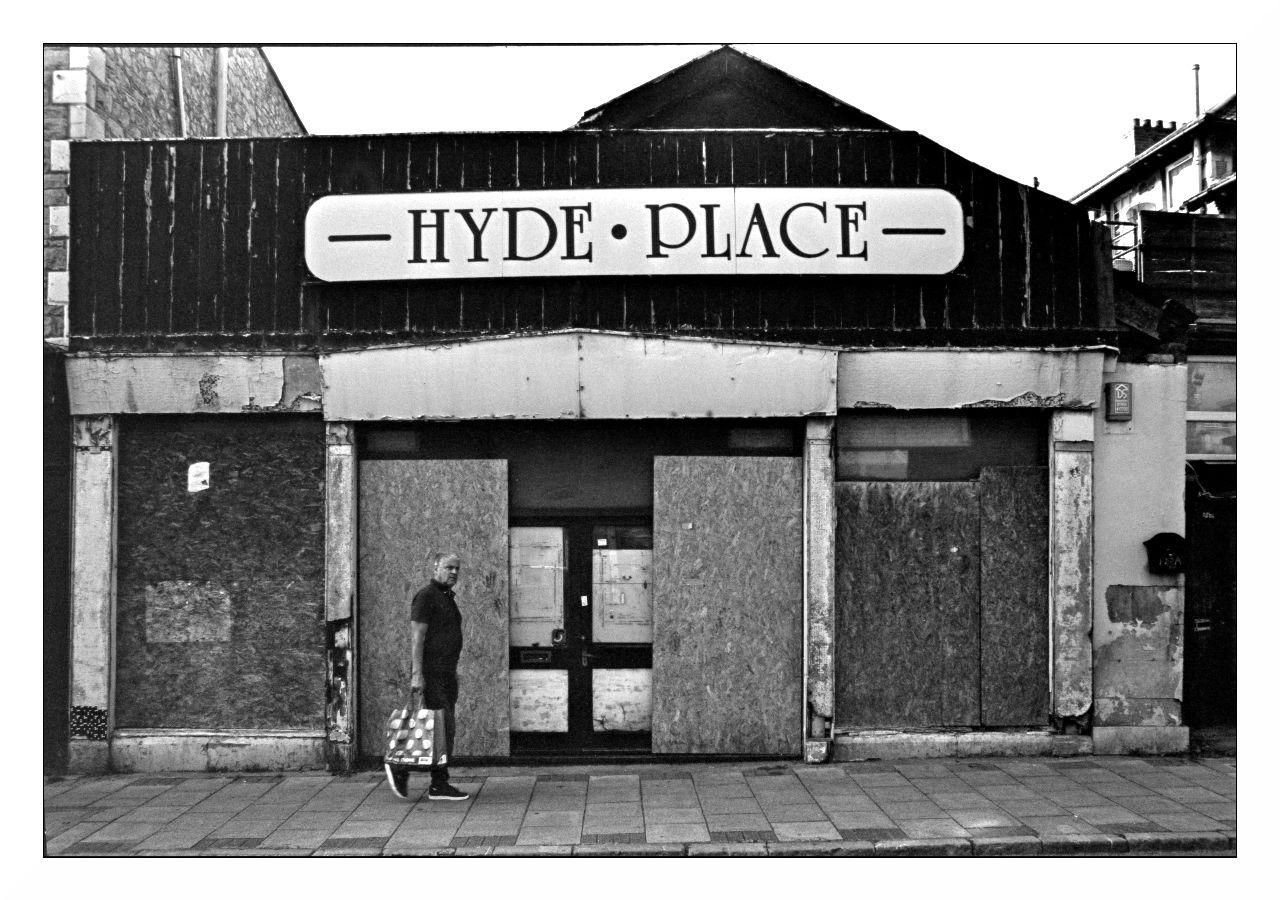 Hyde Place  - Years ago this shop sold leather suites and wooden furniture.