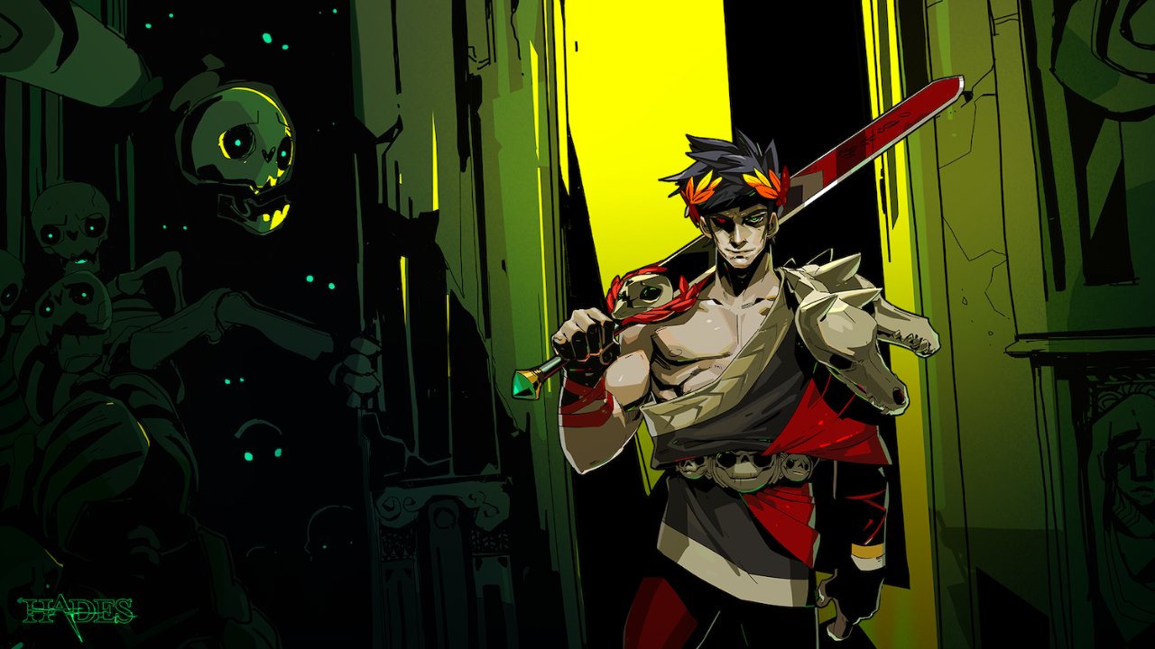 Promotional Artwork of Hades, the Game.