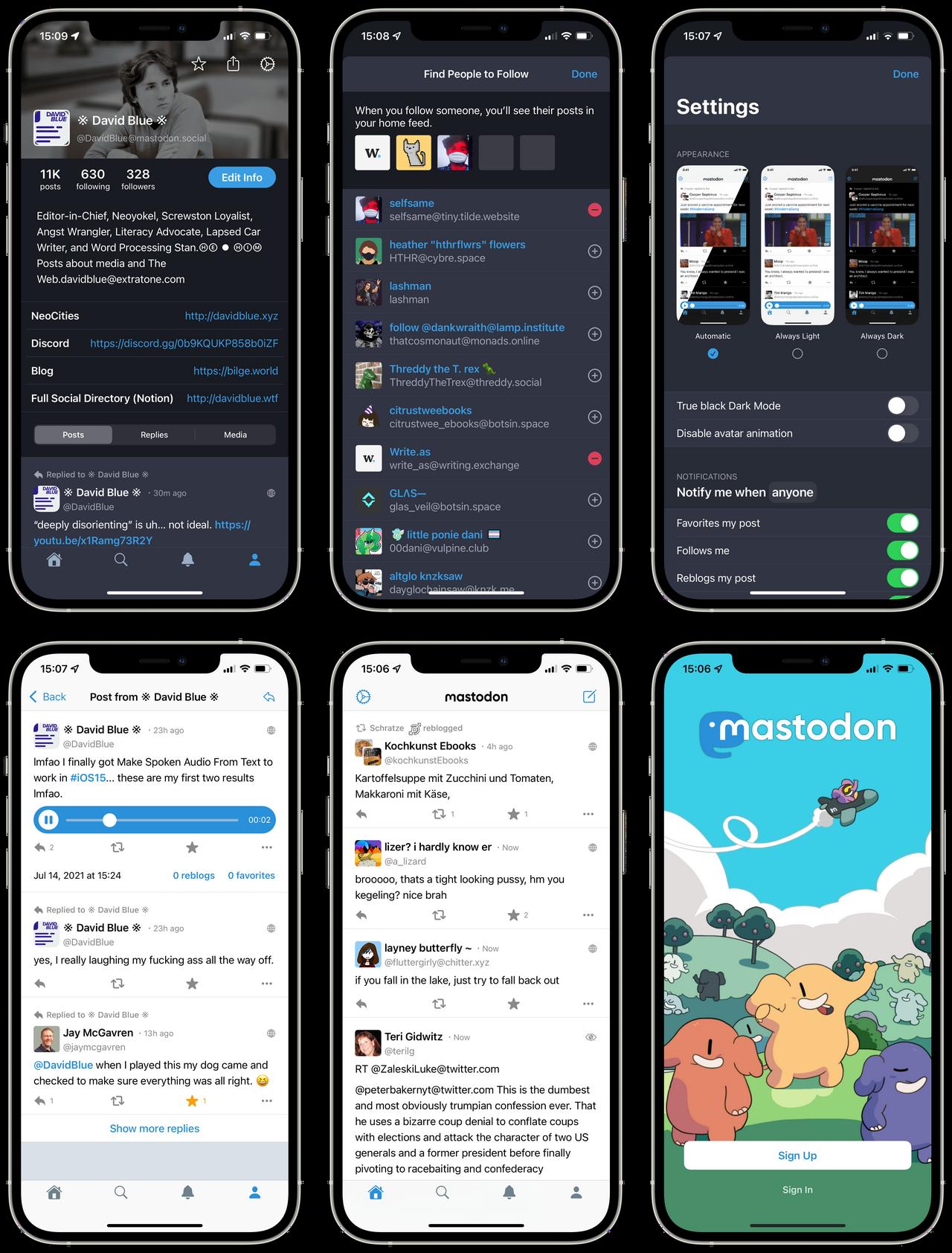 Mastodon for iOS