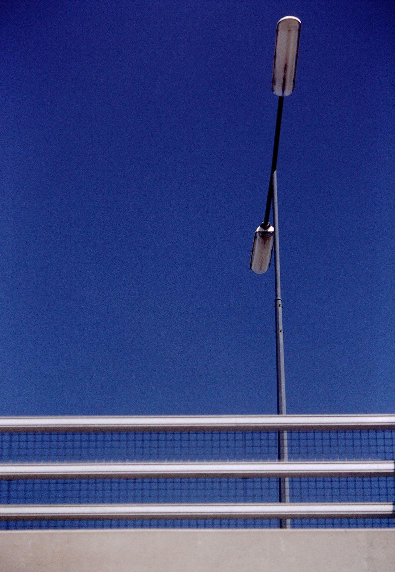 Street Lamp on Flowerdown Bridge - Weston-super-Mare Circa 1998