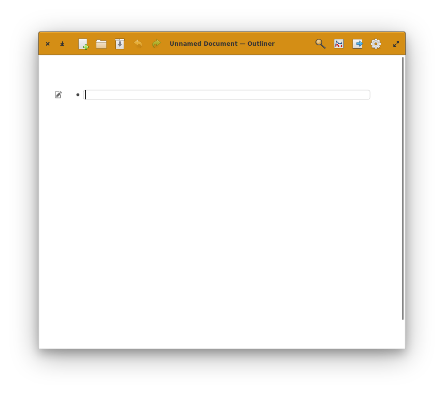 Creating a new outline in Outliner