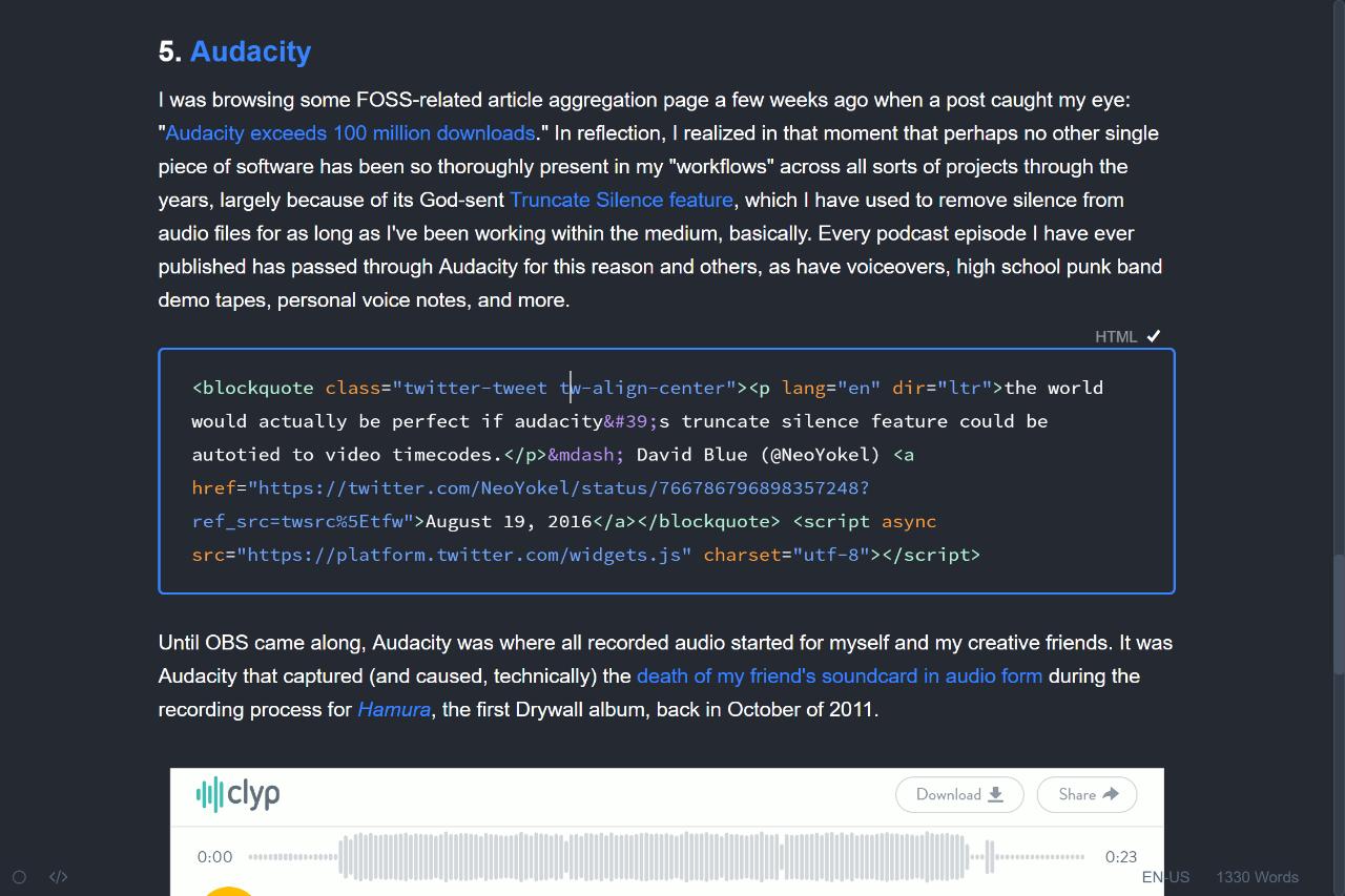 Typora - Gitbooks Slate Theme