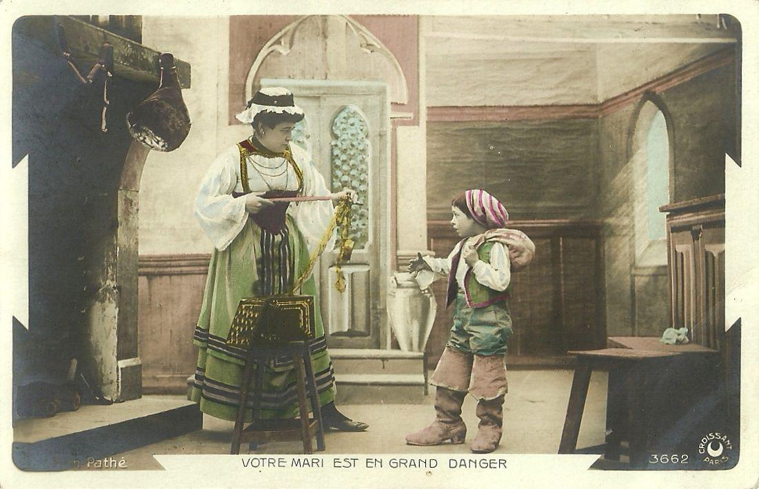"""""""Le petit poucet"""", filme da Pathé Frères (1905)"""